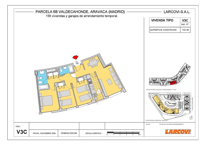 Larcovi edificio aravaca ii viviendas de alquiler en - Plano de aravaca ...